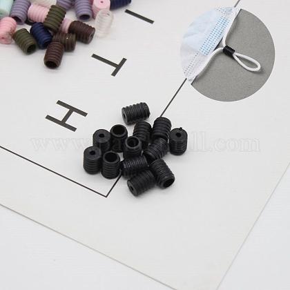 Cordón de ajuste de plástico hebillaAJEW-E034-84B-1