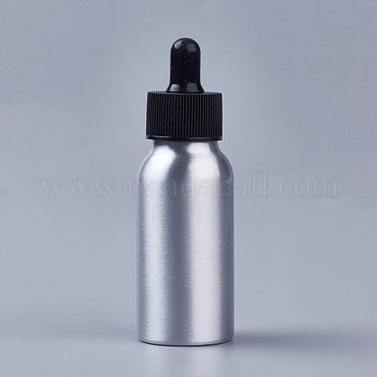 50mlアルミ空スポイトボトルMRMJ-WH0033-01B-1