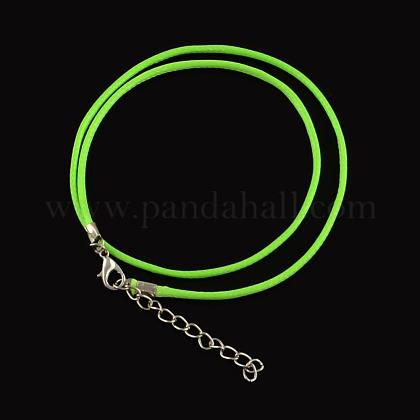 Algodón encerado el collar del cordónMAK-S032-1.5mm-116-1