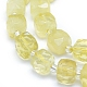 Natural Lemon Quartz Beads Strands G-L552D-12B-2