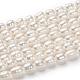 Grado de hebras de perlas de agua dulce cultivadas naturalesA23WD011-5