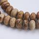 Natural Picture Jasper Beads StrandsG-P354-04-8x5mm-3