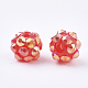 AB-Color Resin Rhinestone Beads RESI-S315-8x10-20-2