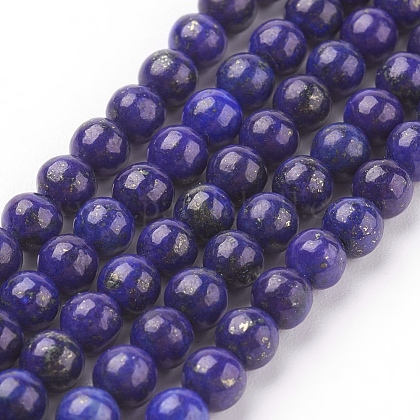Natural Lapis Lazuli Beads StrandsG-G087-4mm-1