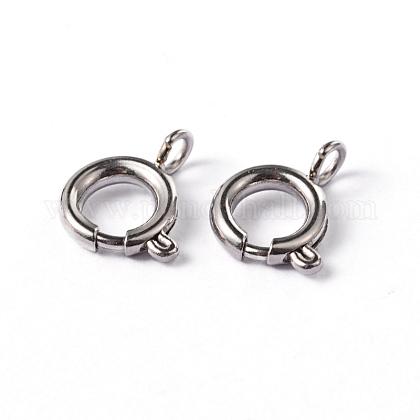304 пружинное кольцо с гладкой поверхностью из нержавеющей сталиSTAS-D149-03-1
