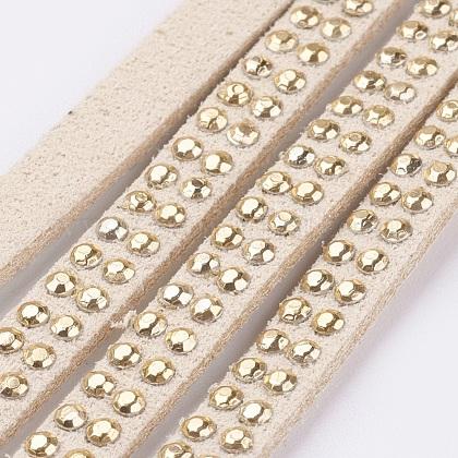 Cuerda de ante imitaciónLW-Q018-5mm-1073-1