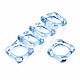 Anillos de dedo de acrílico transparenteRJEW-T010-03C-2
