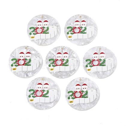 Colgantes de acetato de celulosa (resina)KY-S163-018-1