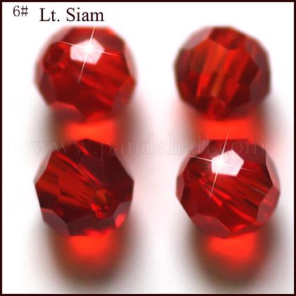 Abalorios de cristal austriaco de imitaciónSWAR-F021-6mm-227-1