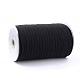 Cuerda elástica trenzada plana de 1/4 pulgadaX-EC-R030-6mm-02-2