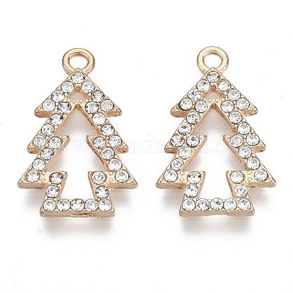 Colgantes de aleación de Diamante de imitaciónX-PALLOY-R119-10-1