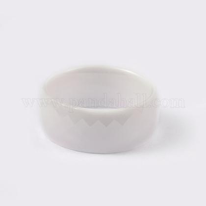 Los anillos de dedo de la porcelanaRJEW-L077-02A-1