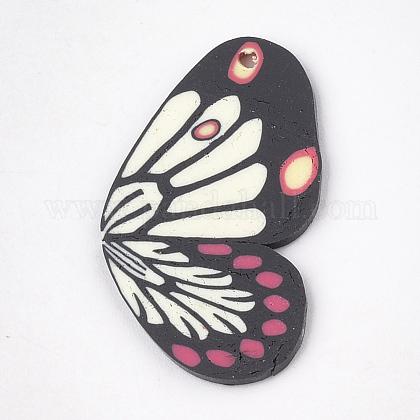 手作り樹脂粘土ペンダントCLAY-T013-02-1