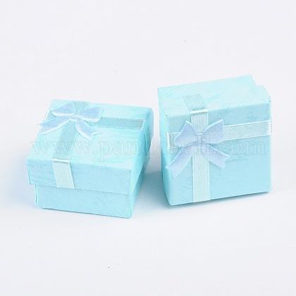 Boîtes à bagues en cartonX-CBOX-G003-08E-1