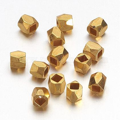 Brass Spacer Beads PALLOY-C077-G-1