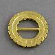 Brillante anillo de boda de la cinta invitación hebillasRB-R007-27mm-02-2