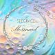 SHEGRACE® 925 Sterling Silver Multi-strand BraceletsJB558A-4