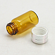 Botella de cristal frasco de vidrio para envases de abaloriosCON-E003-34x16mm-2