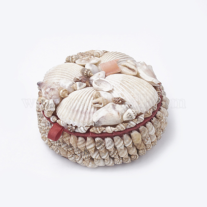 Handmade Spiral Shell Boxes with Carboard insideOBOX-Q015-01-1