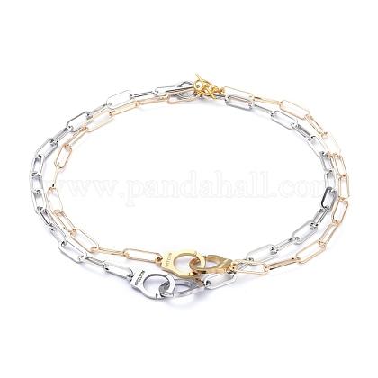 Conjuntos de collares de cadenaNJEW-JN02772-1