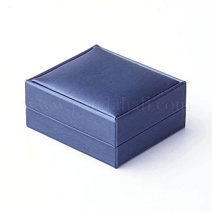 PU Leather Pendant Boxes OBOX-G010-03C-1