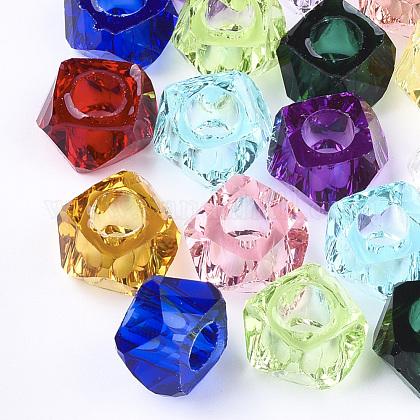 Abalorios de resina transparentesX-RESI-T030-01-1