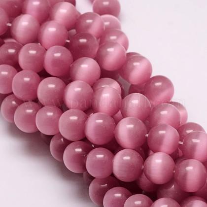 Chapelets de perles d'œil de chatCE-M011-14mm-12-1