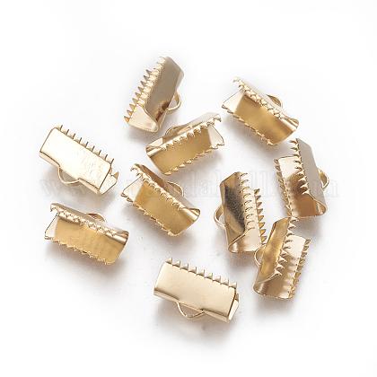 304ステンレス鋼リボンカシメエンドパーツSTAS-E471-05E-G-1