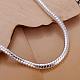 Pulseras de cadena de la serpiente de bronce unisexBJEW-BB12530-2