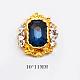 Cabochons Diamante de imitación de la aleaciónMRMJ-S010-007L-1