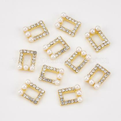 Cabochons Diamante de imitación de la aleaciónMRMJ-T013-21B-1