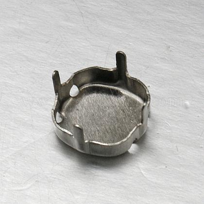 Brass Rhinestone Claw SettingsKK-F369-03-10x10mm-P-1