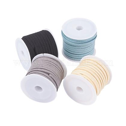 3mm cordón de gamuza sintéticaLW-JP0003-04-1
