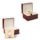 Kraft Hemp Pillow Holder for Jewelry Bracelet & Watch DisplaysX-BDIS-WH0002-01-6