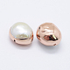 Perlas naturales abalorios de agua dulce cultivadasPEAR-F006-58RG-2