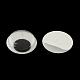 Черный и белый пластик покачиваться гугли глаза кнопки поделок скрапбукинга ремесла игрушка аксессуары с этикеткой пластификатор на спинеX-KY-S002B-15mm-1