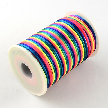 ナイロン糸  ラットテールサテンコード  2mm  約98.42ヤード(90m)/ロールNWIR-R019-01-1