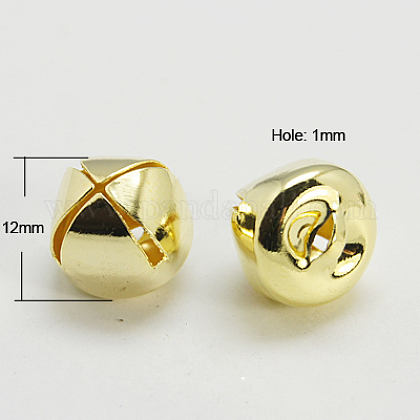 Charms campana de hierro con charmIFIN-E293-12x12-G-1