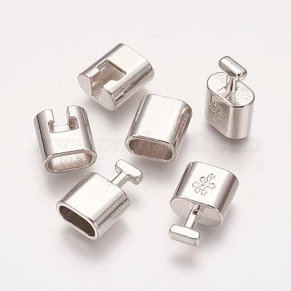 Alloy Snap Lock Clasps KK-H087-P-1