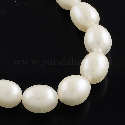 Hebras de perlas de agua dulce cultivadas naturalesPEAR-Q003-7mm-02-1