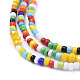 Glass Seed Beads Chain Belts NJEW-C00012-4