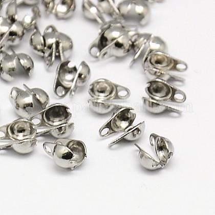 Puntas de cuentas de 304 acero inoxidableX-STAS-I015-05-1