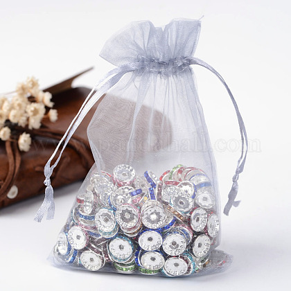 Organza Gift Bags with Drawstring OP-R016-10x15cm-05-1