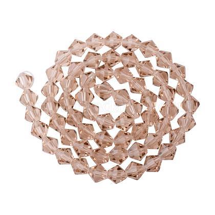 Imitaciones de abalorios de cristal facetado hebras austríacoG-PH0002-11-1