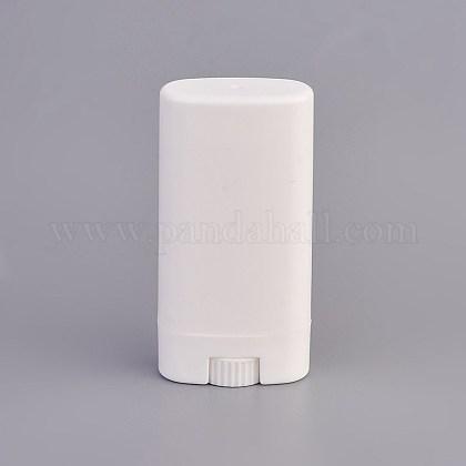 Envase de desodorante plástico de 15g ppDIY-WH0143-37-1