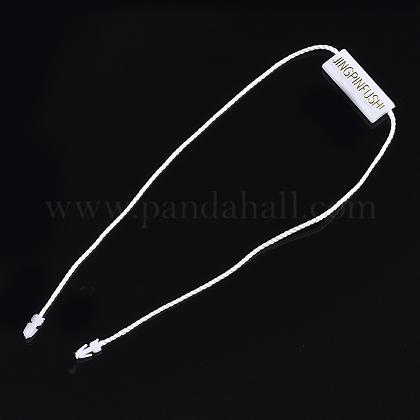 Cordón de poliéster con etiqueta de selloCDIS-T001-20A-1