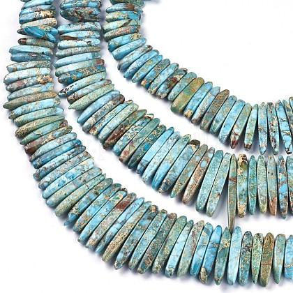 Natural Imperial Jasper Graduated Beads StrandsG-F590-02-1