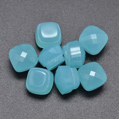 Cubos de cristal facetados del cuboGLAA-P011-02K-1