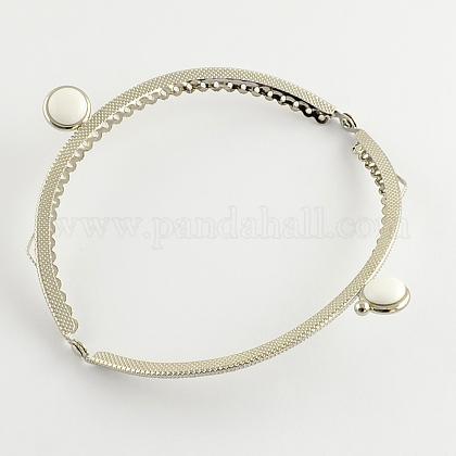 バッグ縫製クラフトplaitnumトーン鉄財布フレームハンドルFIND-Q037-02-1
