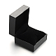 Square PU Leather Jewelry Boxes for Watch CON-M004-08-3